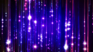 Stock Video Footage of Abstract fantasy motion background, shining lights and particles
