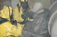 Stock Photo of operation of chemical protection Emergency