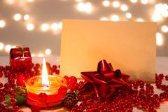 New Year decoration - stock photo