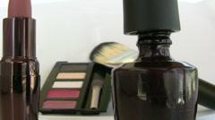 Cosmetics Stock Footage