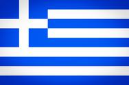 Stock Illustration of greece flag vignetted