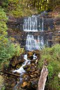 Alger Falls in Munising, Michigan - stock photo