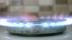 Gas Stove Stock Footage