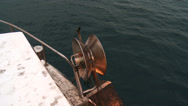 Stock Video Footage of Fishermen hauling net 3