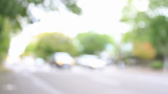 Blurred Traffic Stock Footage