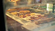 Stock Video Footage of Cookies in bakery HD