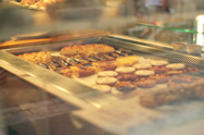 Stock Video Footage of Cookies in bakery NTSC