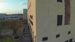 Oklahoma City Bombing Memorial Aerials Stock Footage