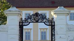 Baroque archway - stock footage