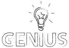 Genius Idea Of Smart People Stock Illustration