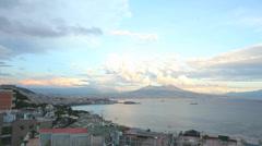 Timelapse Napoli - stock footage
