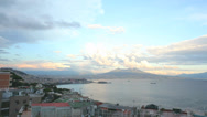 Stock Video Footage of Timelapse Napoli