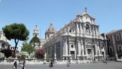 2of11 Italy, Italia, Sicily, Sicilia travel, people and city Stock Footage