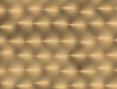 gold metal texture background with oblique line of light - stock illustration
