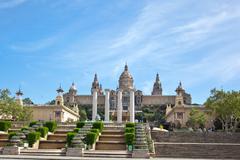 National Museum Barcelona, Espanja Kuvituskuvat