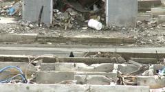 Japan Tsunami of 3-11 2011 - stock footage