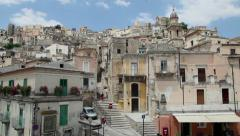 6of11 Italy, Italia, Sicily, Sicilia travel, people and city - stock footage