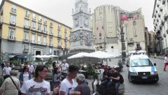 2of5 Italy, Italia, Naples, Napoli travel, people and city Stock Footage