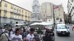 2of5 Italy, Italia, Naples, Napoli travel, people and city - stock footage