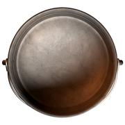 South african potjie pot top empty Stock Illustration