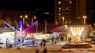 Stock Video Footage of Funfair Timelapse