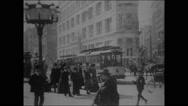 Panorama of Flatiron Building (1902) Stock Footage