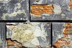 Old bricks wall texture Stock Photos