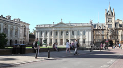 The Senate House Cambridge Stock Footage