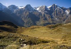 high alps in austria - stock photo