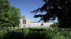 Kings College, Cambridge Stock Footage