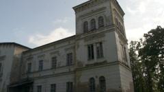 Castle   Manor Stock Footage