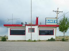 Old Fashioned Diner Stock Photos