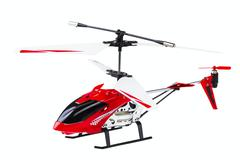 Radio-controlled model of the helicopter Stock Photos