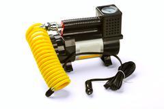 automobile compressor - stock photo