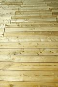 wooden panels like a floor - stock photo