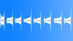 Sheet Metal Lid Drops Turning Sound Effect
