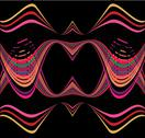 Line abstract background vector art Stock Illustration