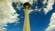 Stock Video Footage of Time Lapse - Stratosphere Tower Casino - Las Vegas