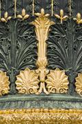 Paris lamppost detail Stock Photos