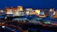 Stock Video Footage of Las Vegas Rio Timelapse