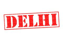 DELHI - stock illustration