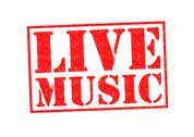 Stock Illustration of LIVE MUSIC