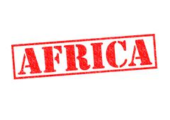 AFRICA - stock illustration