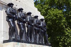 Guards Memorial at Horseguards Parade in London Stock Photos