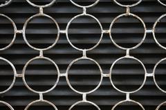 Koristeellinen rauta ikkuna kuvio, metalli suoja ikkunan, metalli-net cir Kuvituskuvat
