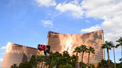 The Wynn Casino Las Vegas Stock Footage