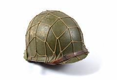American military helmet Stock Photos