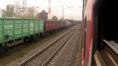 Trans Siberia Railway Stock Footage