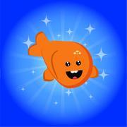 Happyfish Stock Illustration
