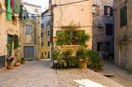 Stock Photo of architecture of rovinj, croatia. istria touristic attraction